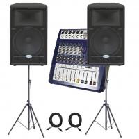Звукоусилительный комплект 500 вт (250 на канал)