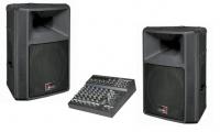 Звукоусилительный комплект 400 ватт (200 на канал)
